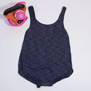 Lululemon Split Back Tank Grey Size 4